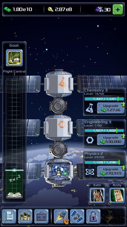 Screenshot 2 Idle Tycoon: Space Company 1.2.4.1 APK MOD