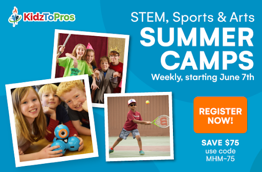 KidzToPros: Denver STEM, arts and summer sports camps for Pre-K to grade 12