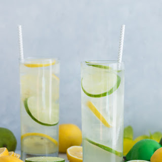 Simple Citrus and Coconut Cocktail