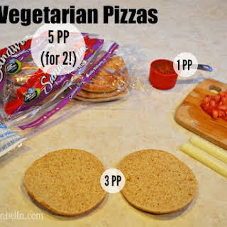 Mini Vegetarian Pizza.
