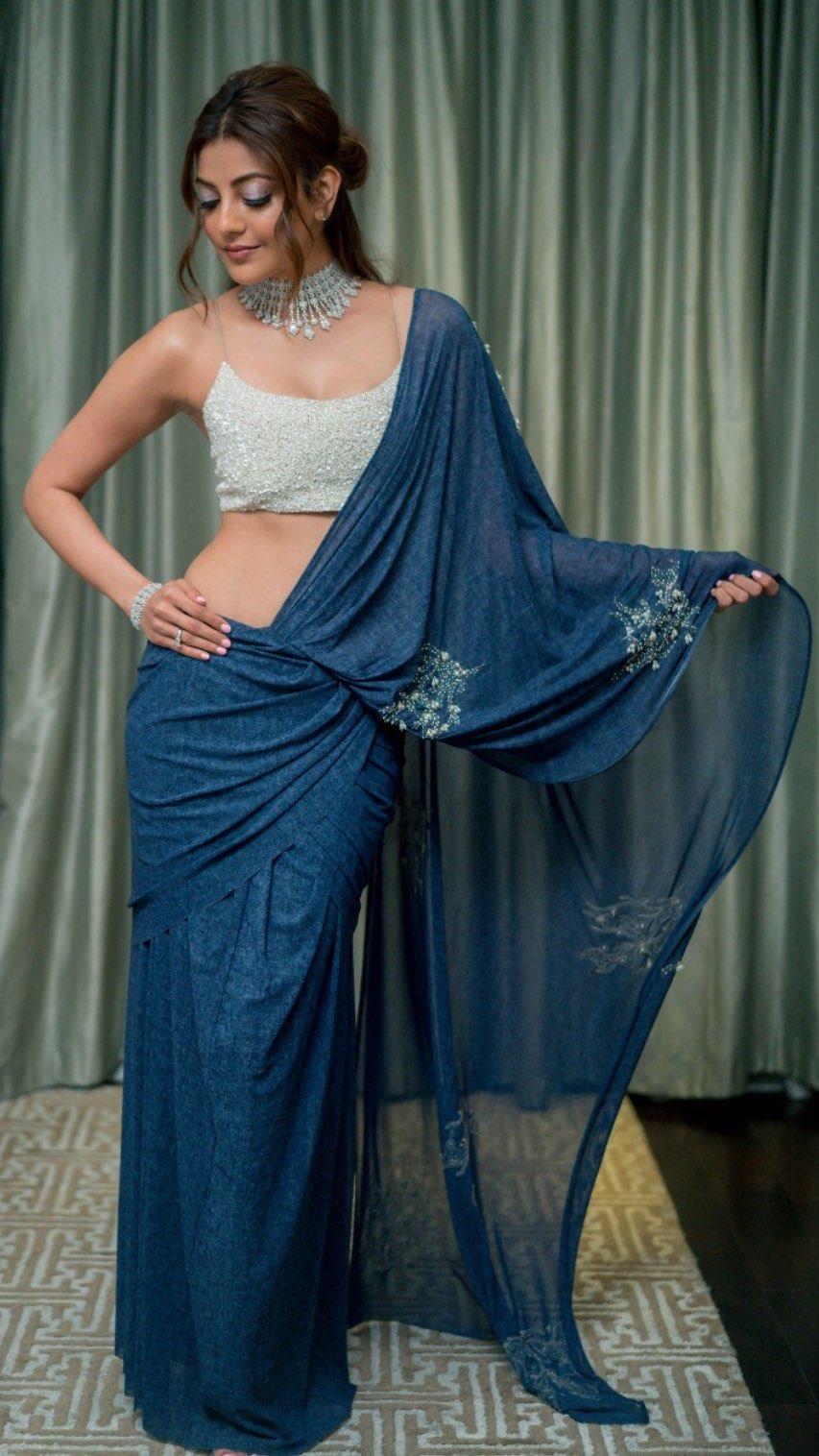 Kajal Aggarwal hot navel latest Navel Queens