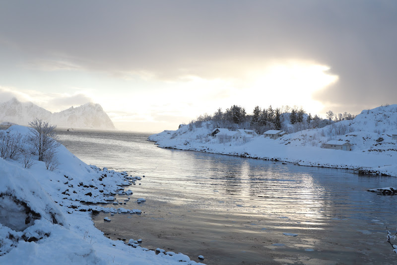 2 marzo 2020, isole Lofoten, Norvegia. di utente cancellato