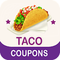Coupons For Taco - Food Coupon, Discount Code 107% icon