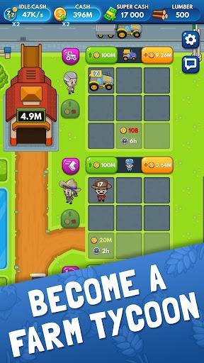 Idle Farm Tycoon - Merge Simulator apkpoly screenshots 3