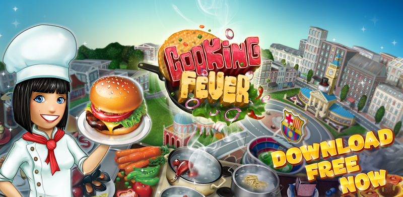 Games Download Cooking Fever