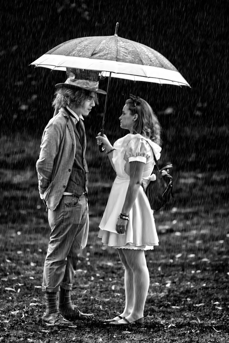 Sotto la pioggia di Mariusz