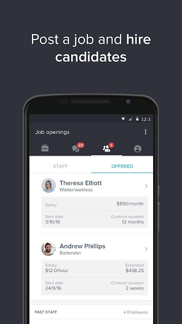 #5. Jobandtalent Job Search & Hire (Android)