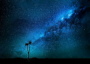 Photo: A starry night in Namibia