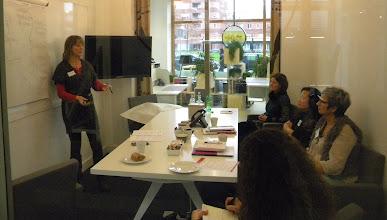 Photo: Workshop 'Authentiek Presenteren' o.l.v. Jolande van der Horst