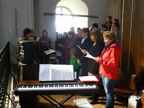 Photo: Chorale Totale im Totaleinsatz