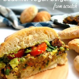 Mushroom Vegan Burgers