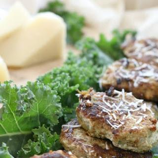 Parmesan and Kale Turkey Meatlets.