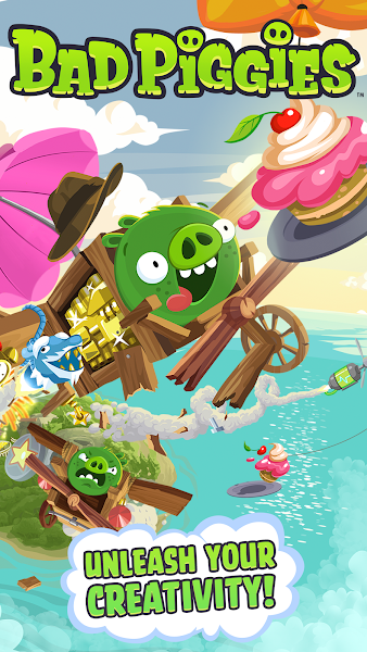 Bad Piggies HD v2.3.3 [Mega Mod]