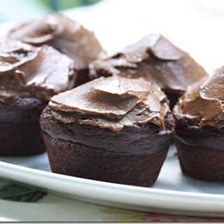 Chocolate Avocado Cupcakes & Frosting.