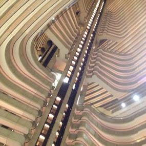 Alien in Atlanta by Eric Eldritch - Buildings & Architecture Other Interior ( interior, architecture, skeleton )