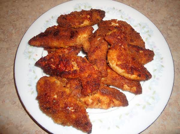 Oven Fried Chicken Tenders Recipe