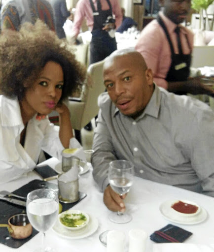 Vanessa and her husband Itumeleng Pooe.