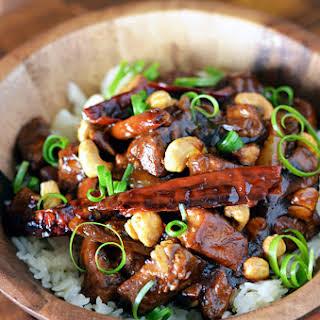 Crock Pot Kung Pao Chicken.