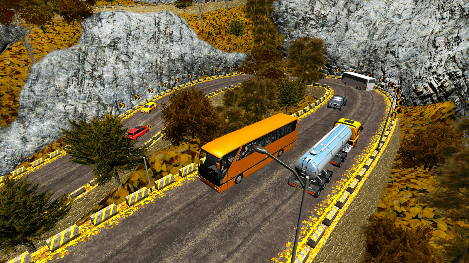 Offroad Tour Bus Driver Coach Bus Simulator- screenshot
