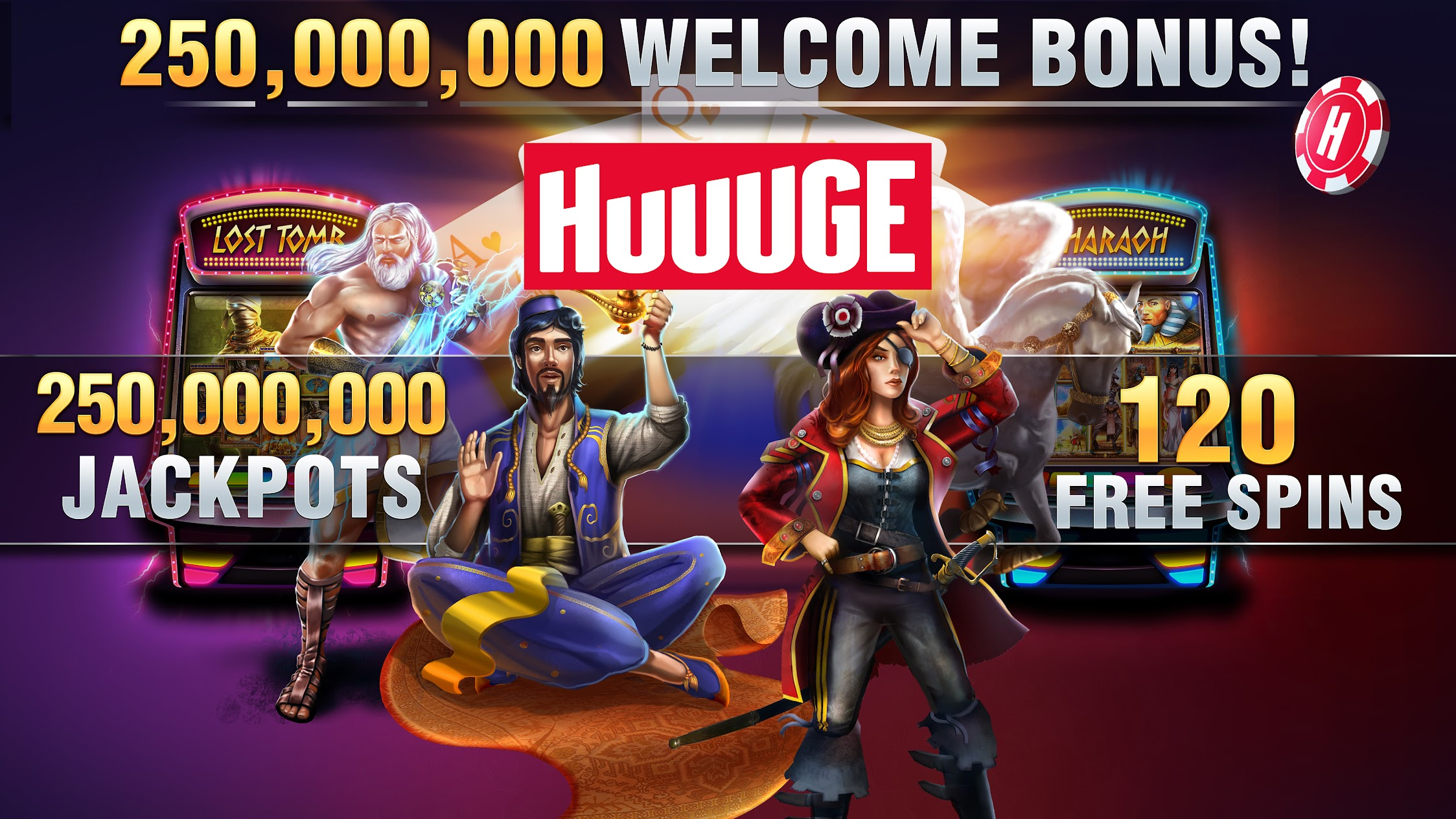 Free Slots & Casino games by Huuuge