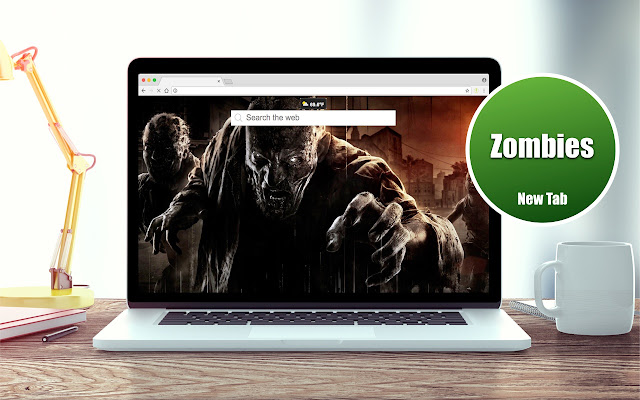 *NEW* HD Zombies Wallpapers New Tab Theme
