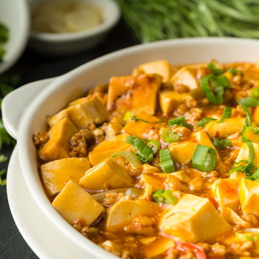 Spicy Soft Bean Curd with Minced Pork