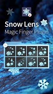 Snow Lens-Magic Finger Plugin screenshot 0