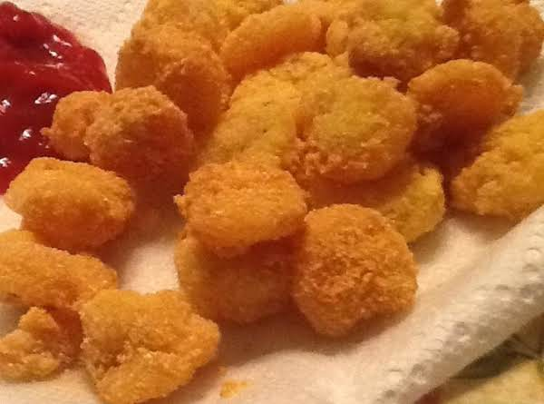 Cornmeal Coated Fried Shrimp Recipe