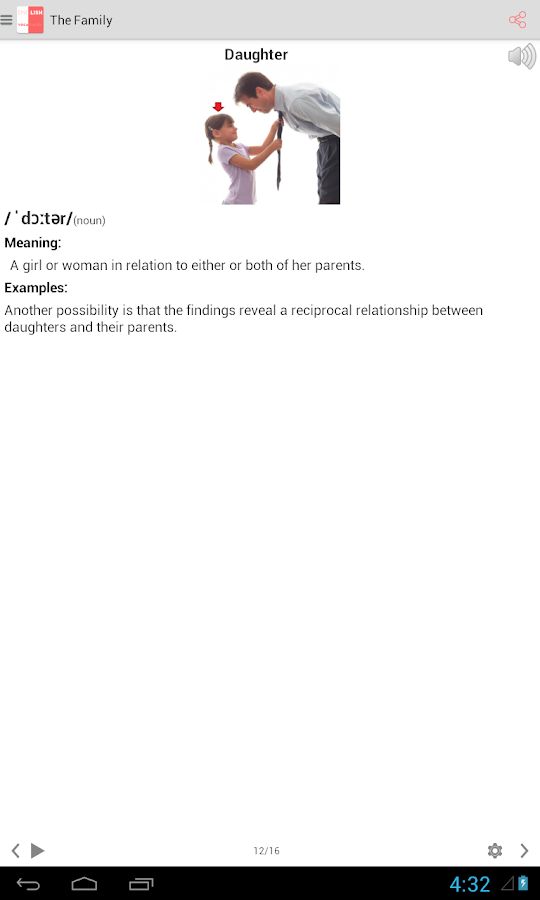 English Vocabulary - PicVocPro- screenshot