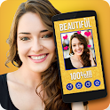 Beauty detector Face scanner icon