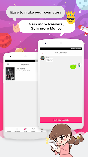 Joylada - Read All Kind of Chat Stories  Wallpaper 5