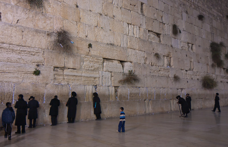 Photo: The Wailing Wall, Jerusalem, Israel