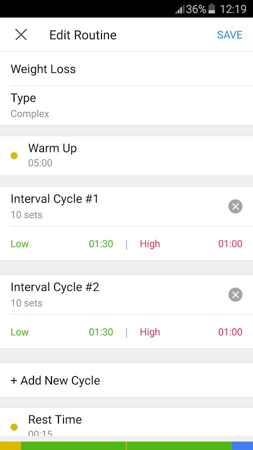 Interval Timer - HIIT Training- screenshot