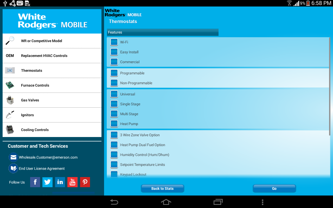 WRMobile- screenshot