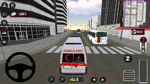 911 Emergency Ambulance Simulation android2mod screenshots 4