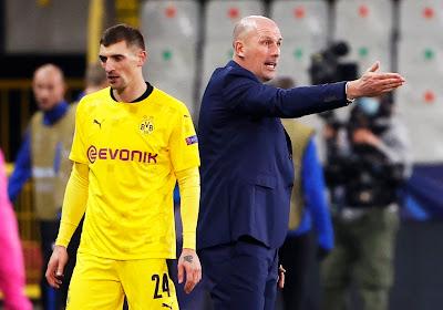 """Philippe Clement veut positiver: """"Dortmund n'est pas aussi efficace à chaque rencontre"""""""