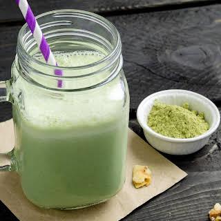 Matcha Green Tea Smoothie.