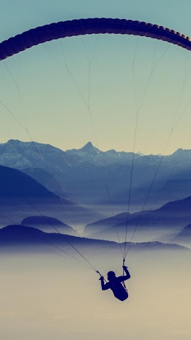 android Extreme.Paragliding.Wallpaper Screenshot 0