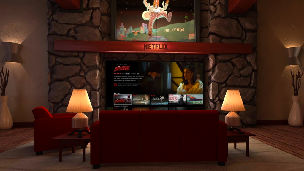 Netflix VR: screenshot