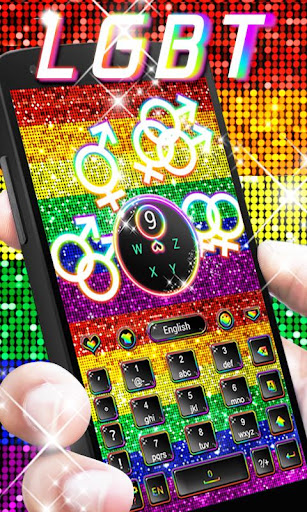 玩免費個人化APP|下載GO Keyboard Theme LGBT app不用錢|硬是要APP