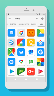 MI UX 8 Free - Icon Pack Screenshot