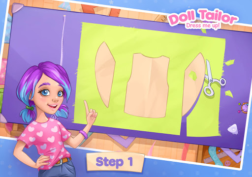 Fashion Dress up games for girls. Sewing clothes 4.0.7 screenshots 6