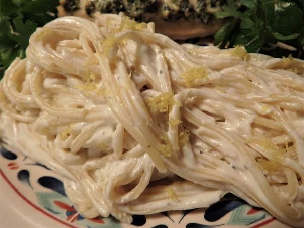 Spaghetti With Lemon & Ricotta