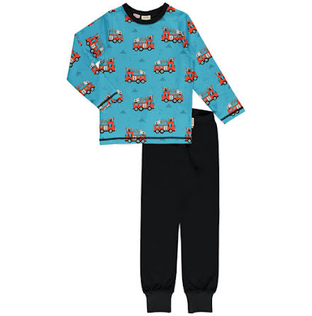 Maxomorra Pyjamas Set LS Fire Trucks