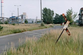 Photo: Pozostałości po bocznicy EC Grębocin {Toruń, Grębocin; 2003-09-17}
