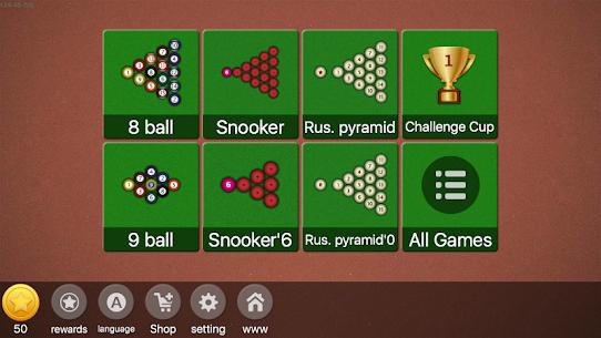 2018 Billiards – Offline & Online Pool / 8 Ball 9