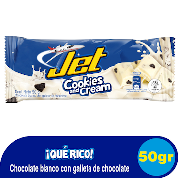 Chocolatina JET   Cookiesand Cream x50g