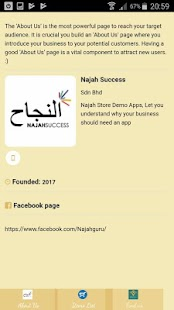 Najah Store Demo - náhled