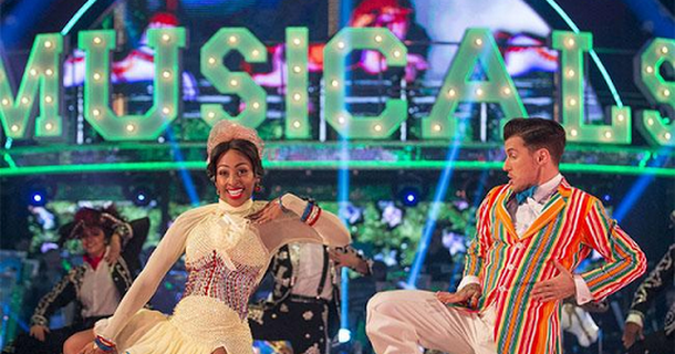 Alexandra Burke bounces back on Strictly