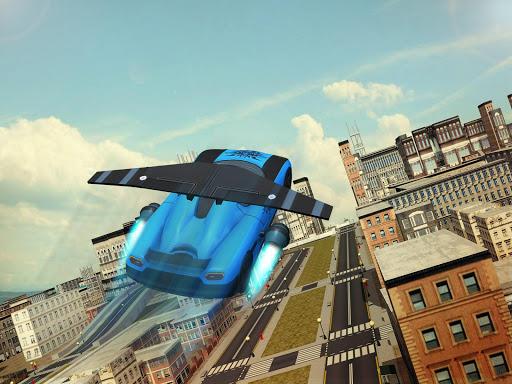 Free Flying Racing Car Driving 1.1 screenshots 6